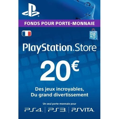 Playstation Network Card 20 EUR | France Account