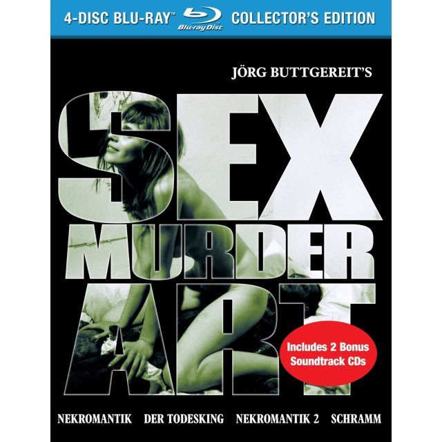 Sex Murder Art: The Films of Jörg Buttgereit (Collector's Edition) [Blu-ray+CD]