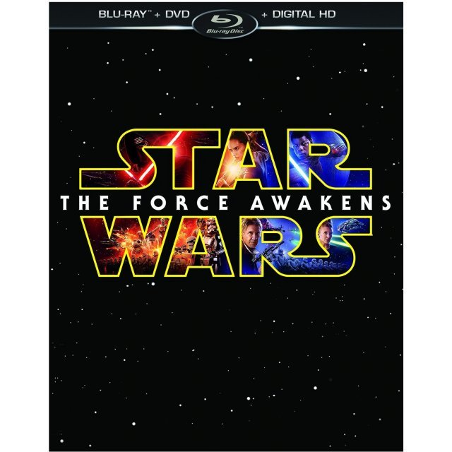 Star Wars: Episode VII - The Force Awakens [Blu-ray+DVD+Digital Copy]