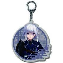 Touken Ranbu -ONLINE- Keychain: 10 Honebami Toushirou (Re-run)