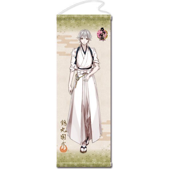 Touken Ranbu -ONLINE- Wall Scroll (Uchiban) 25: Tsurumaru Kuninaga (Re-run)