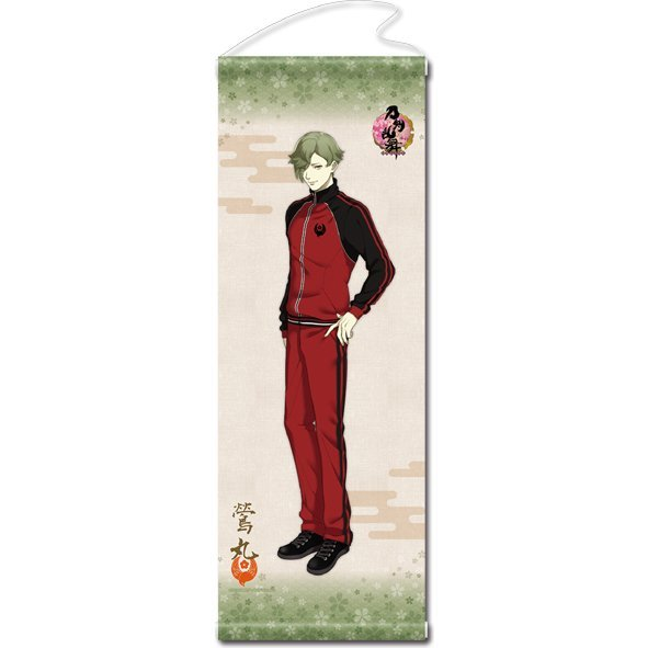 Touken Ranbu -ONLINE- Wall Scroll (Uchiban) 33: Uguisumaru (Re-run)