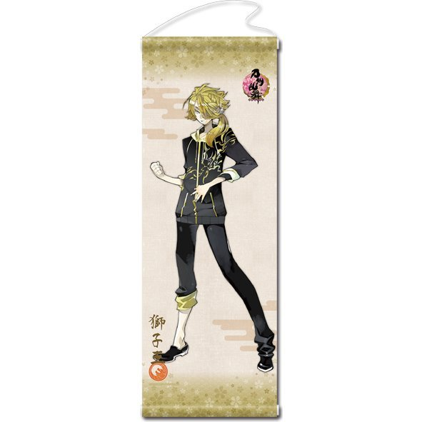 Touken Ranbu -ONLINE- Wall Scroll (Uchiban) 34: Shishiou (Re-run)