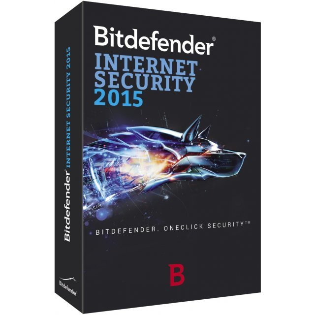 Bitdefender Internet Security 2015, 1 User, 1 Year