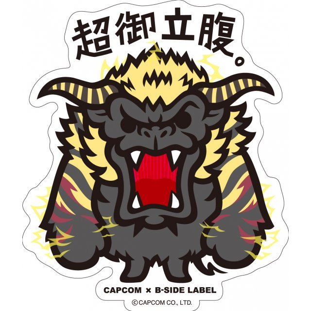 CAPCOM x B-SIDE Label Sticker: Monster Hunter Cho Gorippuku (Re-run)