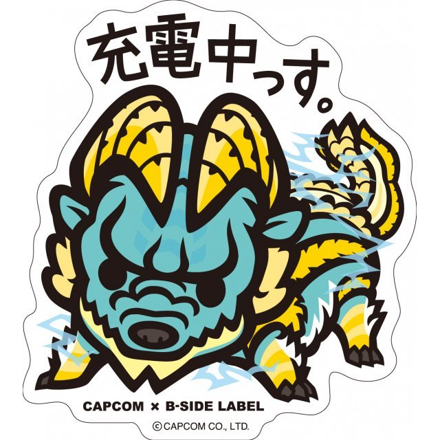 CAPCOM x B-SIDE Label Sticker: Monster Hunter Judenchussu (Re-run)