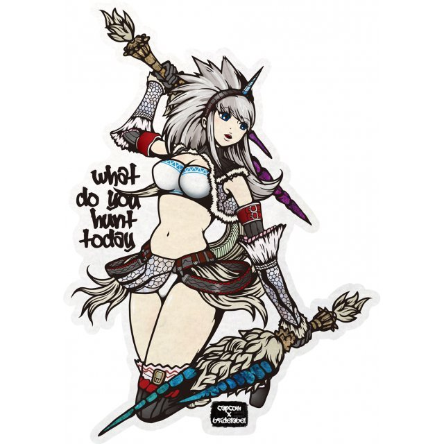 CAPCOM x B-SIDE Label Sticker Vol. 2: Monster Hunter Kirin Soubi (Re-run)