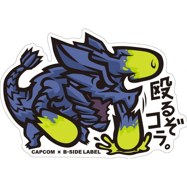 CAPCOM x B-SIDE Label Sticker Vol. 2: Monster Hunter Naguruzo Kora (Re-run)