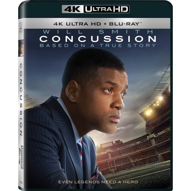 Concussion [4K UHD Blu-ray]