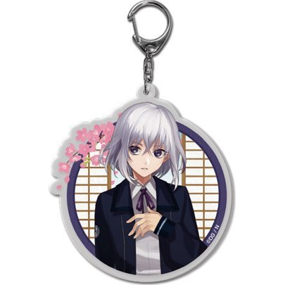 Touken Ranbu -ONLINE- Key Chain (Uchiban) 10: Honebami Toushirou (Re-run)