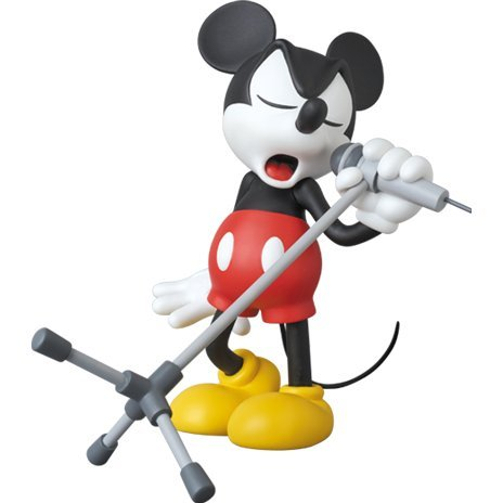 Vinyl Collectible Dolls: Mickey Mouse Microphone Ver.