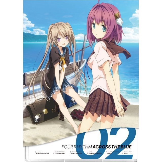 Ao no Kanata no Four Rhythm Vol.2 [Blu-ray+CD Limited Edition]