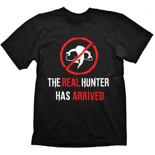 Dying Light T-Shirt: The Real Hunter (L Size)