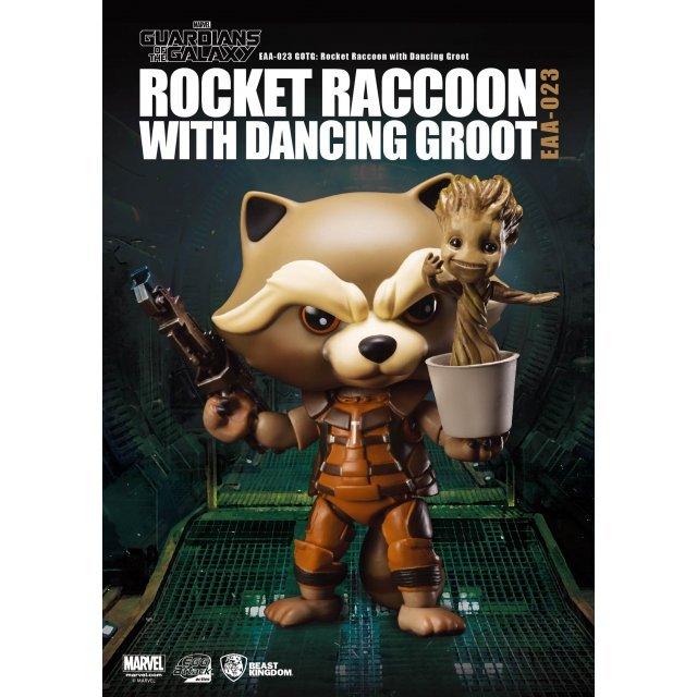 Egg Attack Guardians of the Galaxy: Rocket Raccoon and Dancing Groot