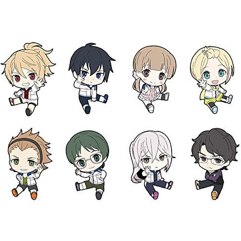 Prince of Stride Alternative Petanko Trading Rubber Strap (Set of 8 pieces)