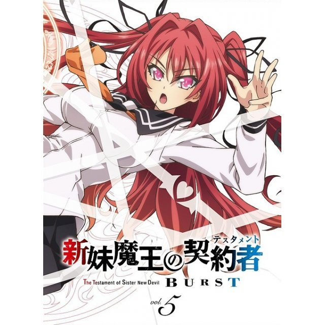 Shinmai Maou no Testament Burst Vol.5 [Limited Edition]