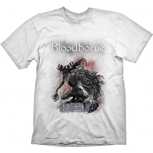 Bloodborne T-Shirt: Bossfight (XL Size)