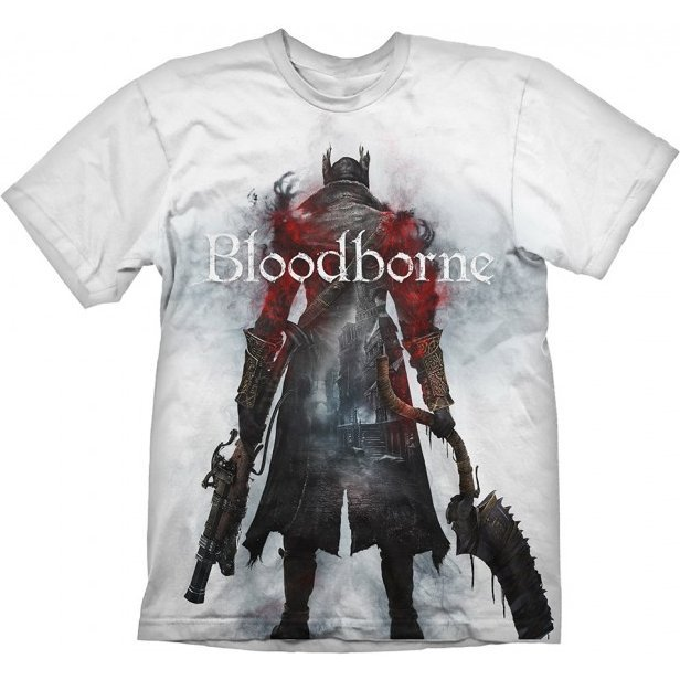 Bloodborne T-Shirt: Hunter Street (L Size)