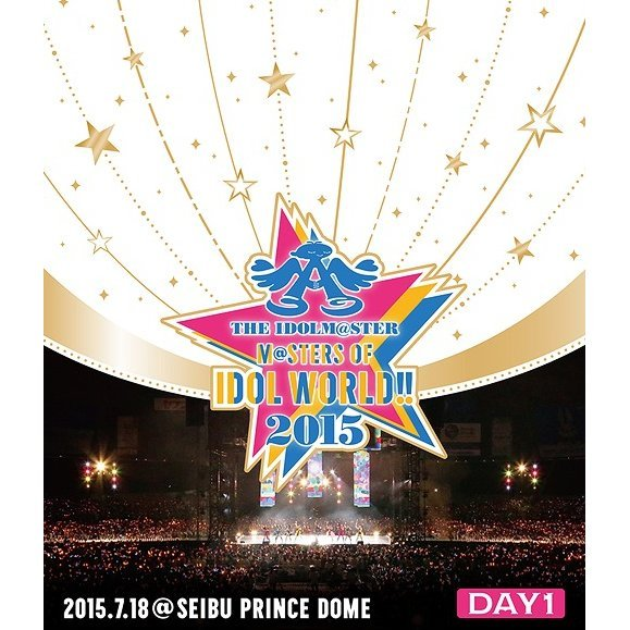 Idolm@ster M@sters Of Idol World 2015 Live Blu-ray Day 1