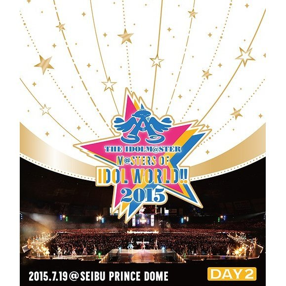 Idolm@ster M@sters Of Idol World 2015 Live Blu-ray Day 2