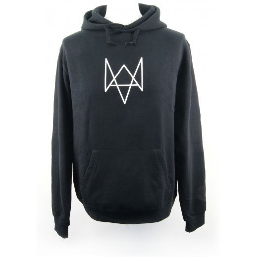 Watch Dogs Hoodie: Fox Logo (XL Size)