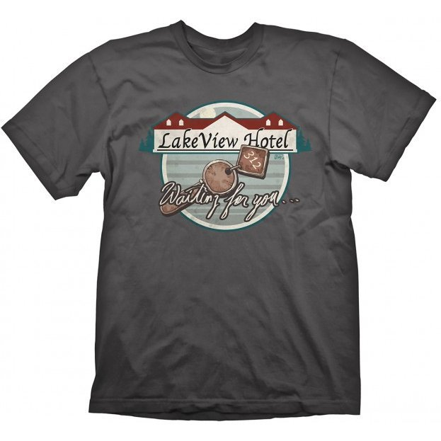 Silent Hill T-Shirt: Lakeview Hotel (XL Size)