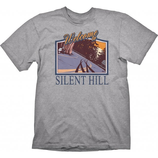 Silent Hill T-Shirt: Welcome to Silent Hill (L Size)