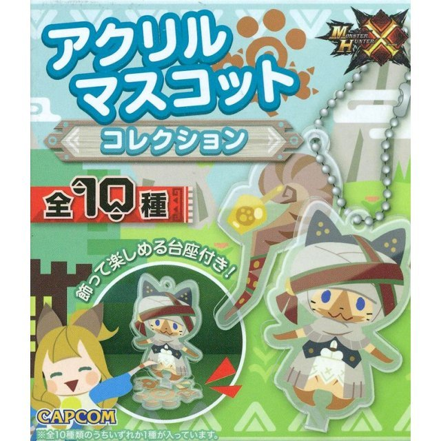 Monster Hunter X Acrylic Mascot Collection (Random Single)