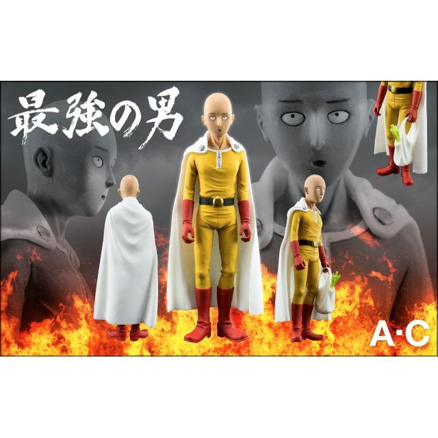 One-Punch Man 1/12 Scale Pre-Painted Figure: Strongest Male - The One