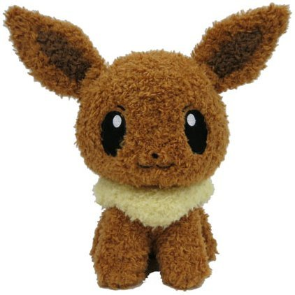 Pokemon Mokomoko Plush: Eevee
