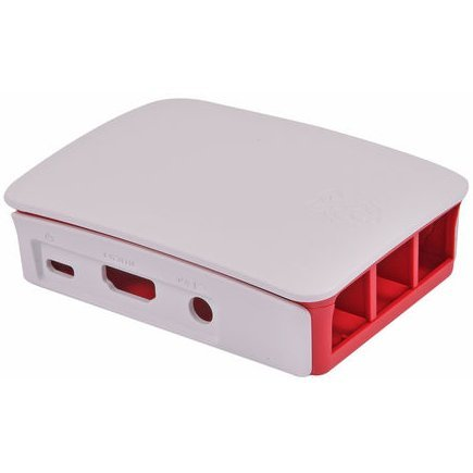 Raspberry Pi 3 Model B Official Case (White)