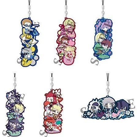 Tales of Series Wachatto! Rubber Strap Collection (Set of 6 pieces)