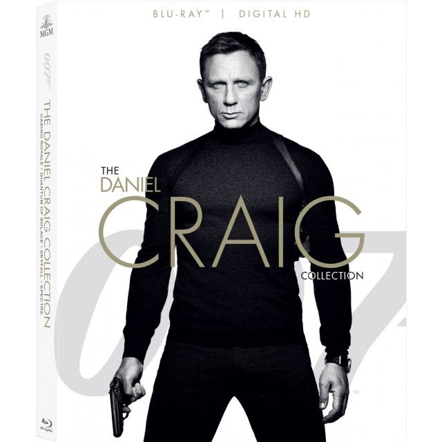 007: The Daniel Craig 4-Film Collection [Blu-ray+Digital HD]