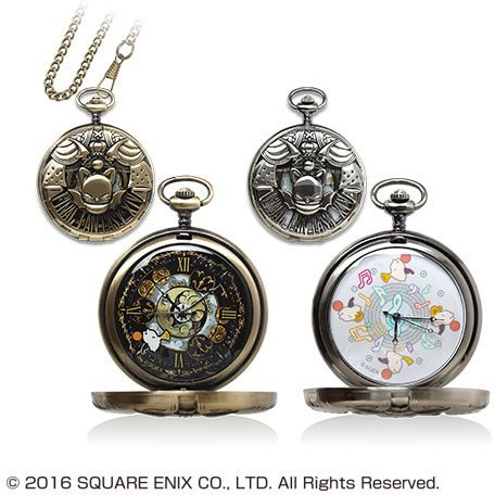Final Fantasy XIV Pocket Watch: Moogle (Set of 2)