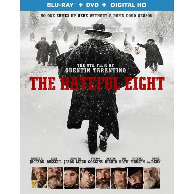 The Hateful Eight [Blu-ray+DVD+Digital Copy]