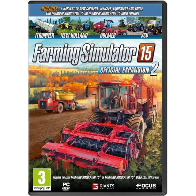 Farming Simulator 15 Expansion Pack 2 (DVD-ROM)