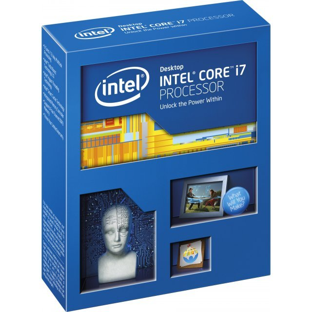 Intel Core i7-5820K, 6x 3.30GHz, boxed without cooler