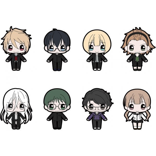 Prince of Stride Alternative Moekko Trading Rubber Strap (Set of 8 pieces)