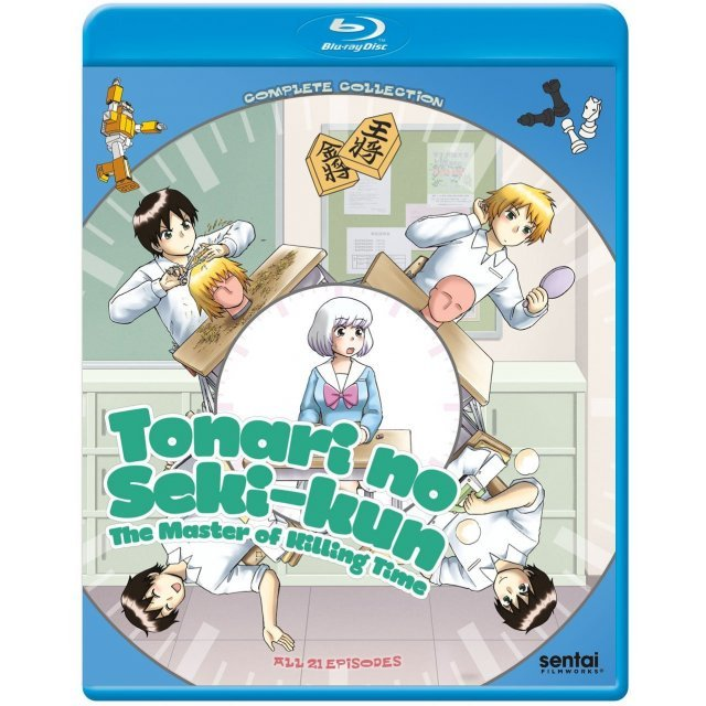 Tonari No Seki-Kun: The Master Of Killing Time - Complete Collection