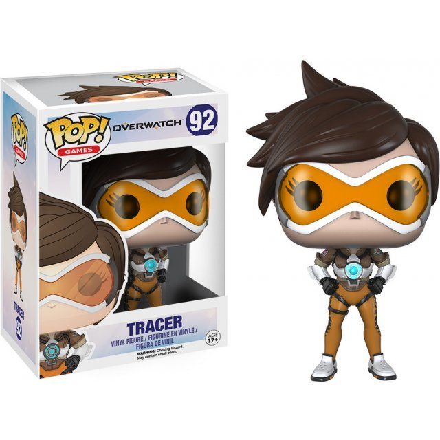 Funko Pop! Games Vinyl Figure: Overwatch - Tracer