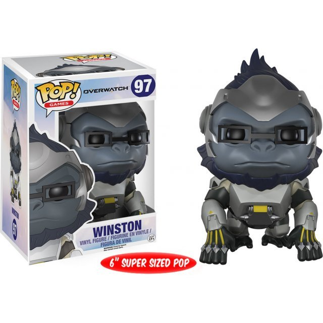 Funko Pop! Games Vinyl Figure: Overwatch - Winston (6 inches)
