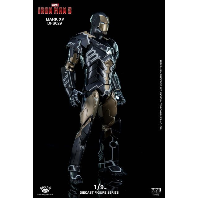 King Arts Iron Man 3 1/9 Diecast Figure Series: Mark XV