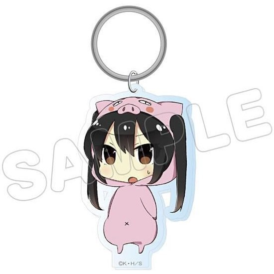 K-On! Animalkko Acrylic Keychain: Azusa (Re-run)