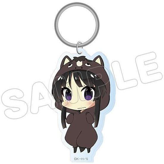 K-On! Animalkko Acrylic Keychain: Mio (Re-run)