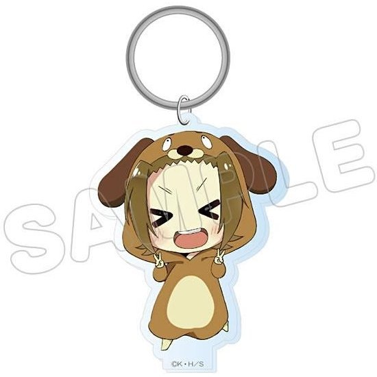 K-On! Animalkko Acrylic Keychain: Ritsu (Re-run)