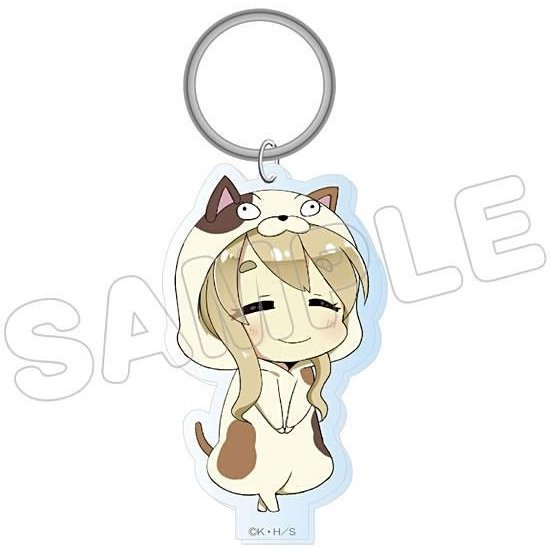 K-On! Animalkko Acrylic Keychain: Tsumugi (Re-run)