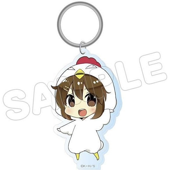 K-On! Animalkko Acrylic Keychain: Yui (Re-run)