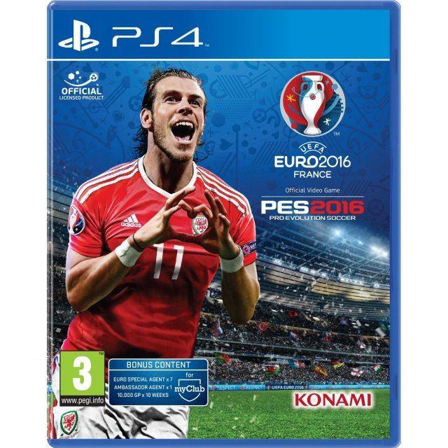 2016 PS4 Pro Evolution Soccer