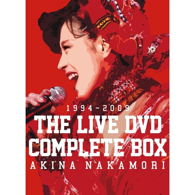 Akina Nakamori The Live DVD Complete Box