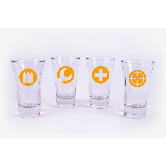 Battlefield Hardline Shotglasses Set of 4
